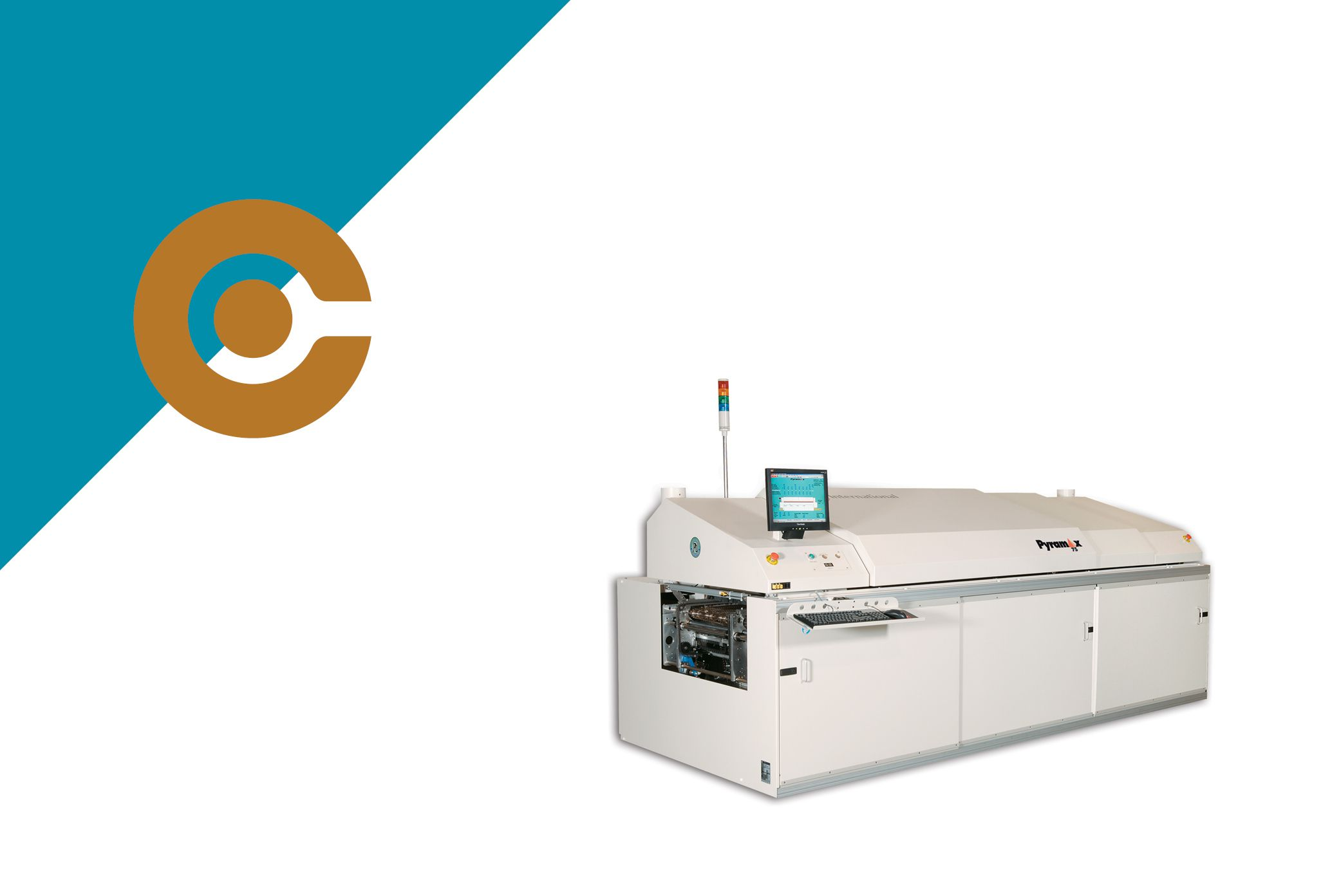 BTU pyramax 75a soldering reflow oven for SMT assembly line