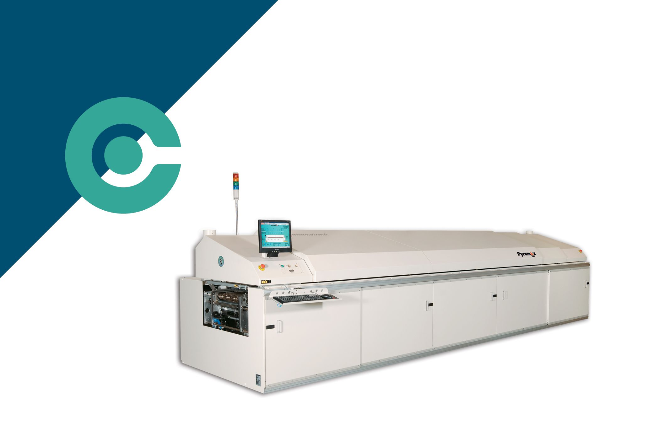 Top of the line Pyramax 150a z12 air reflow oven