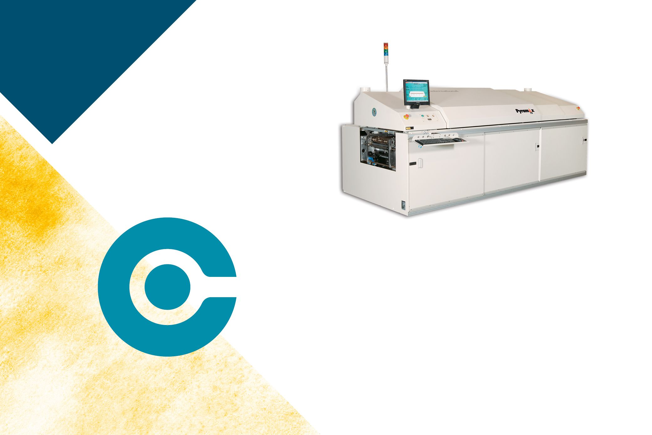 Download datasheet on pyramax 75A with spec on the reflow oven