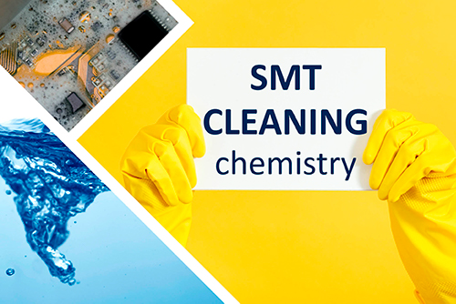 Cleaning chemistry from SYSTRONIC is SMT cleaning detergent for PCB assembly