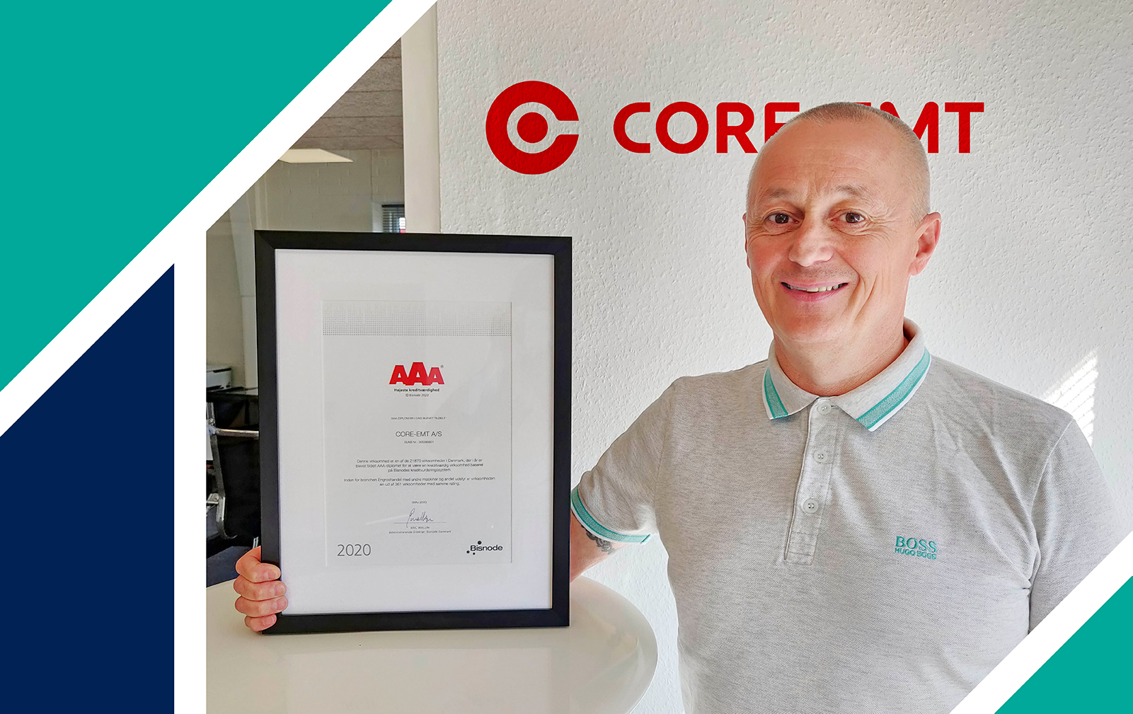 CORE-emt have the highest creditworthiness