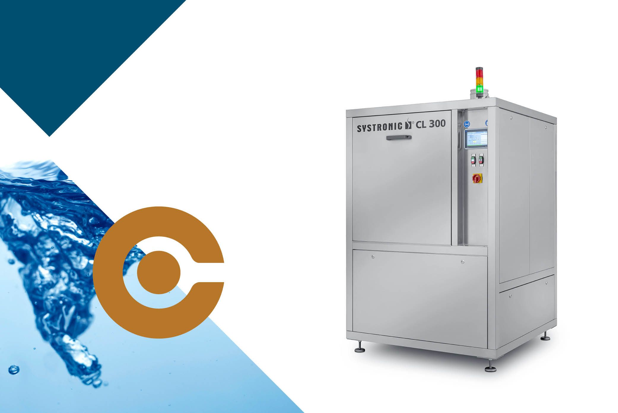 Buy solder frame cleaner machines from SYSTRONIC