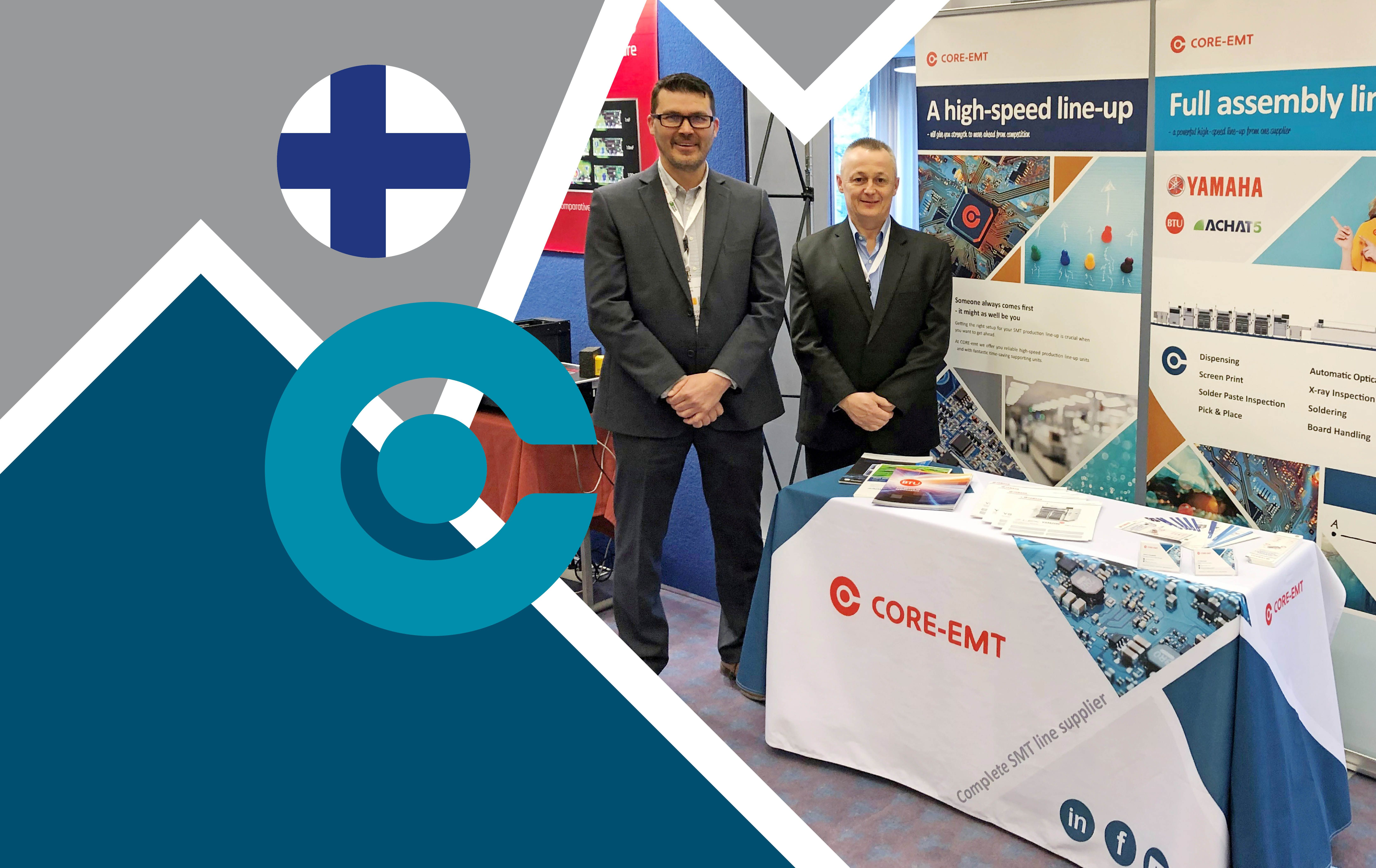 Meet Kai and Steen at the Finnish evertiq expo in Tampere