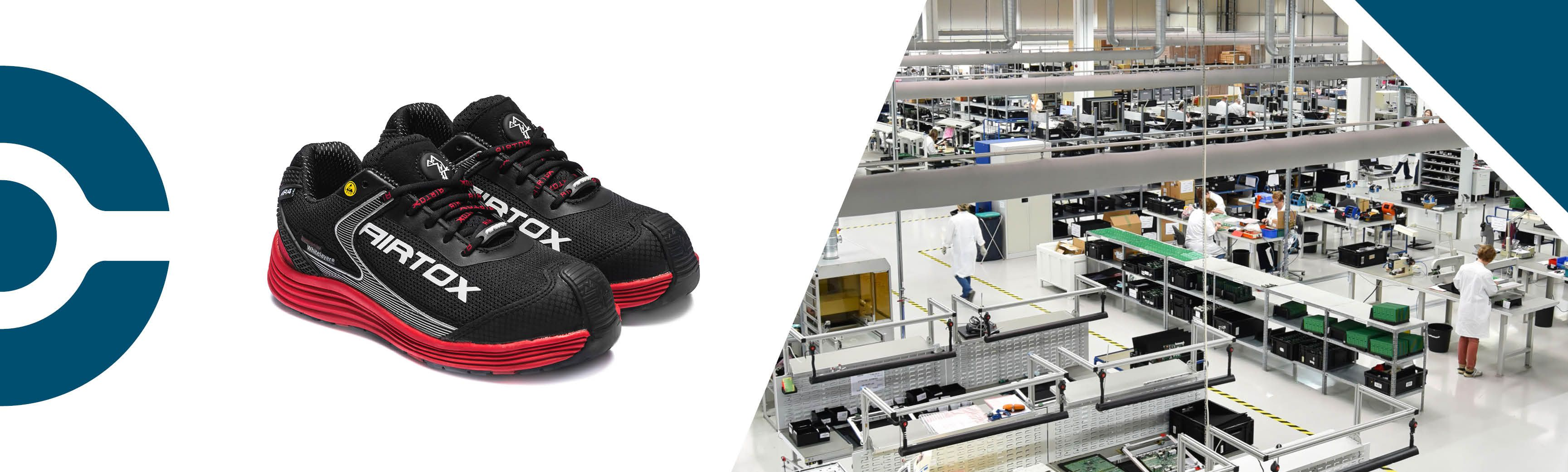 Shop AIRTOX ESD safety shoes beacuse it's a FAB ESD safety shoes