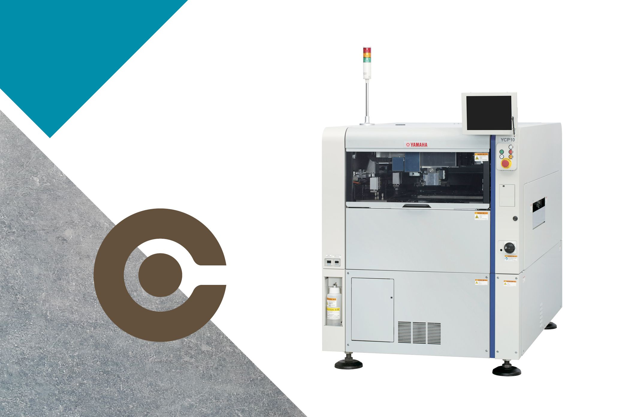 SMT line-up Screen Printer units