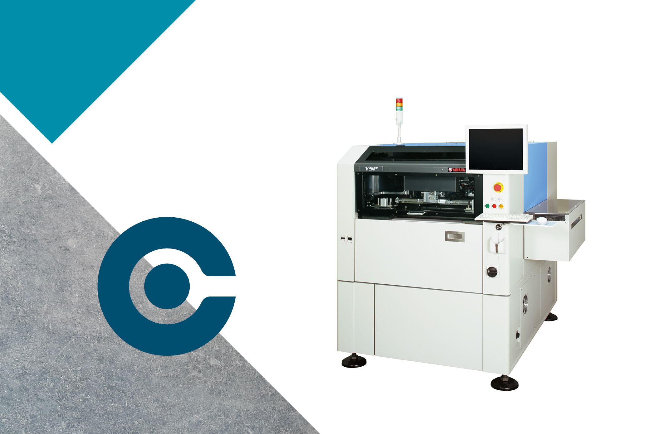 YSP machine for solder paste screen printing